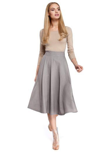Dámská sukně MOE M302 šedá
