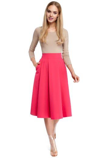 Dámská sukně MOE M302 růžová