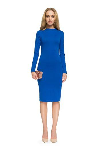 Dámské elegantní šaty Style S033 modré