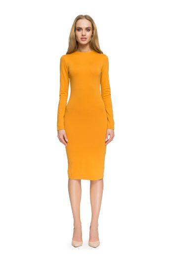 Dámské elegantní šaty Style S033 žluté
