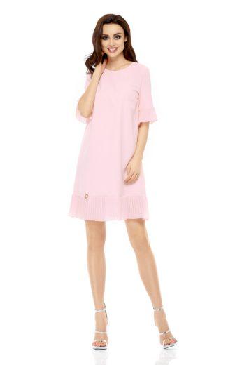 Dámské společenské šaty Lemoniade L243 růžové