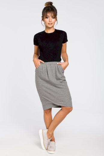 Sportovní sukně Be B049 šedá