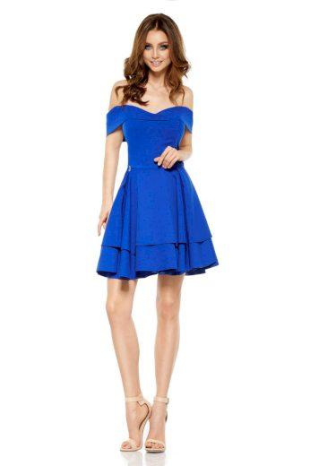 Dámské společenské šaty Lemoniade L258 modré