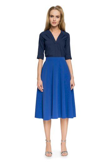 Elegantní sukně Style S006 modrá
