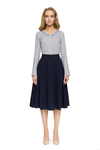 Elegantní sukně Style S006 tmavě modrá