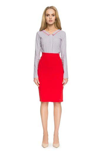 Pouzdrová sukně Style S009 červená