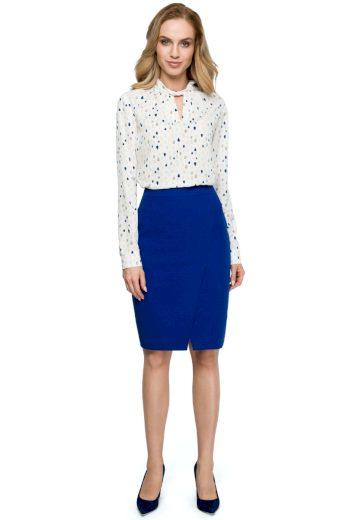Elegantní sukně Style S127 modrá