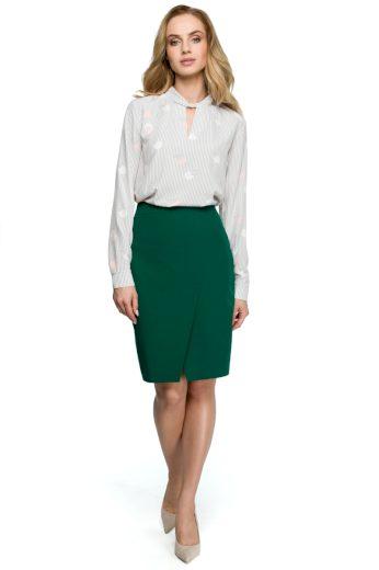 Elegantní sukně Style S127 zelená