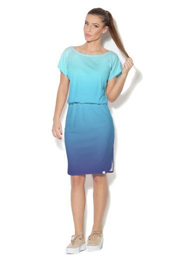 Modré šaty Color Pleasure