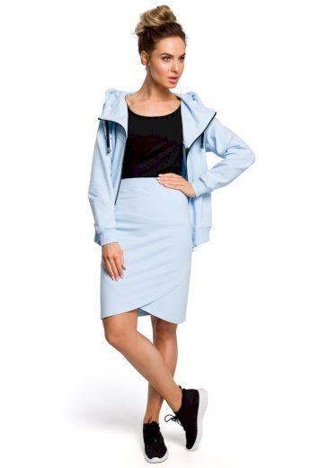 Sportovní sukně MOE M421 světle modrá