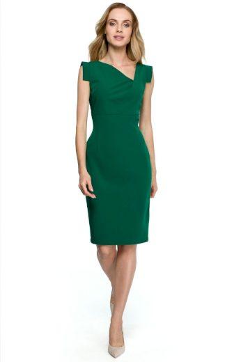 Elegantní šaty Style S121 zelené