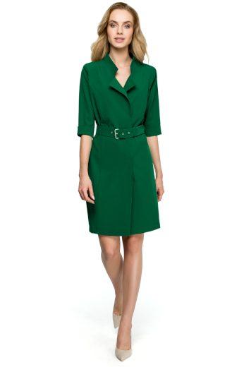 Elegantní šaty Style S120 zelené