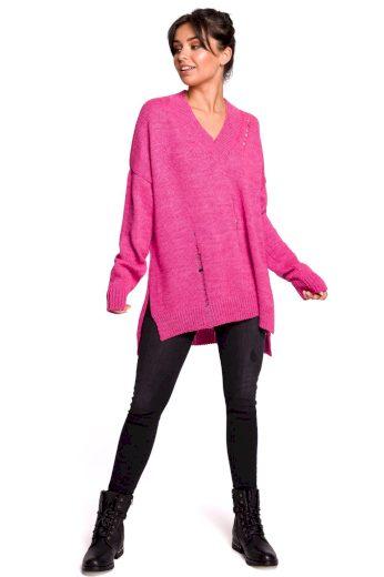 Dámský svetr Be BK028 růžový