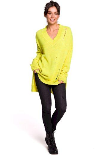 Dámský svetr Be BK028 žlutý