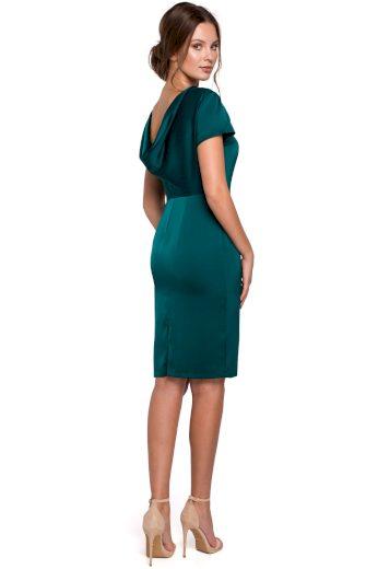 Elegantní společenské šaty Makover K041 zelené