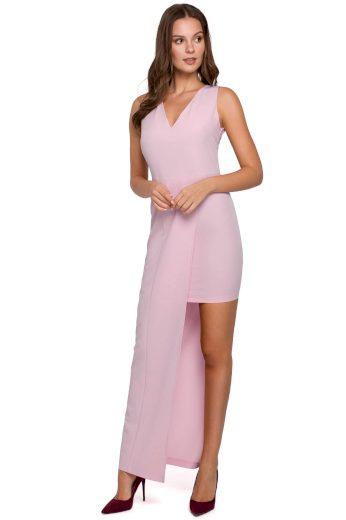 Dlouhé společenské šaty Makover K026 lila