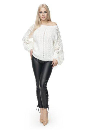 Jarní svetr PeeKaBoo 30061 bílý