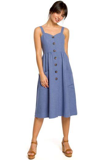 Letní šaty Be B117 modré