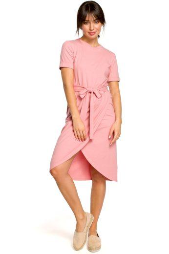 Letní šaty Be B118 růžové