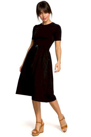 Letní šaty Be B120 černé