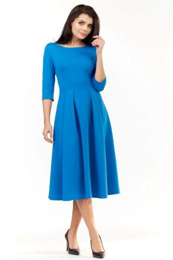 Elegantní šaty Infinite You M155 modré