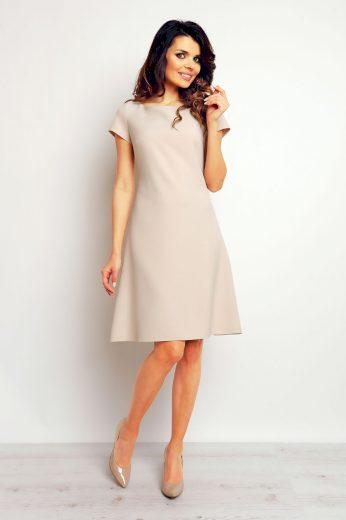 Elegantní šaty Infinite You M086 béžové