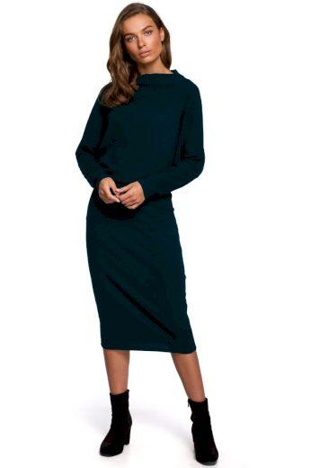 Elegantní šaty Style S251 zelené