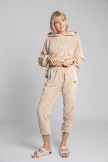 Měkounké domácí kalhoty LaLupa LA004 béžové