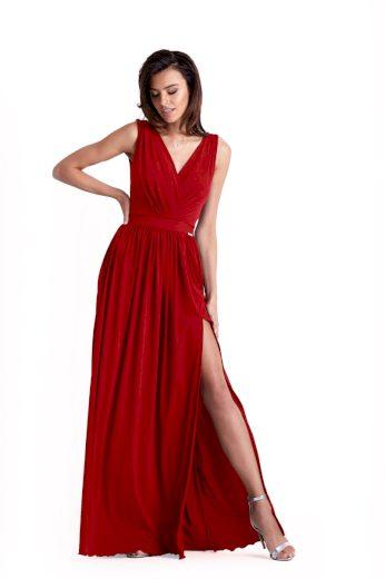 Dlouhé společenské šaty Ivon Philippa červené