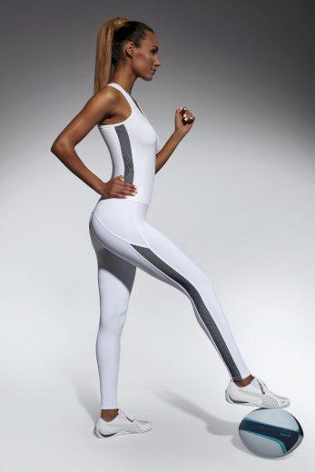 Sportovní legíny Bas Bleu Imagin bílé