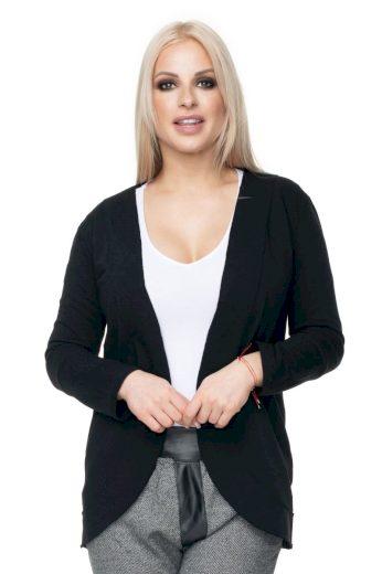 Bavlněné sportovní sako Peekaboo 0100 černé