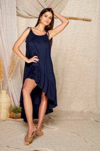 Lehounké letní šaty Lemoniade L368A modré
