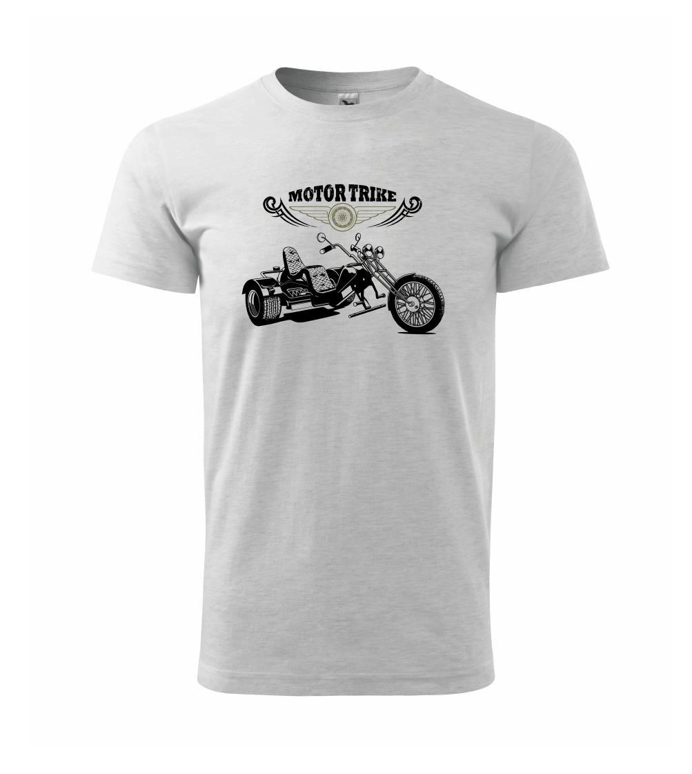 Moto tříkolka - Heavy new - triko pánské