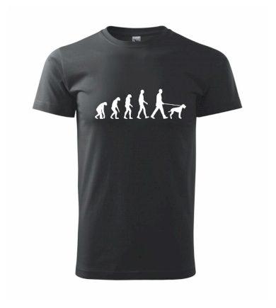 Evoluce pes - Heavy new - triko pánské