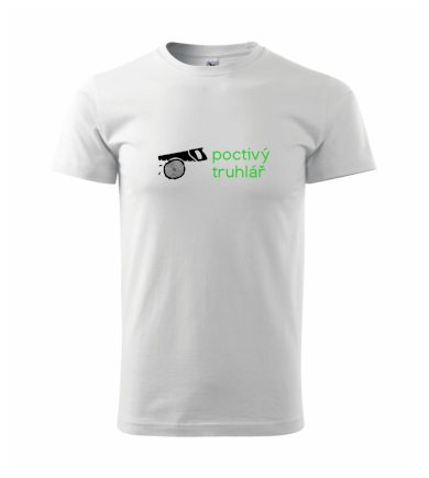Poctivý Truhlář - Heavy new - triko pánské