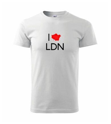 I Love LDN - Heavy new - triko pánské