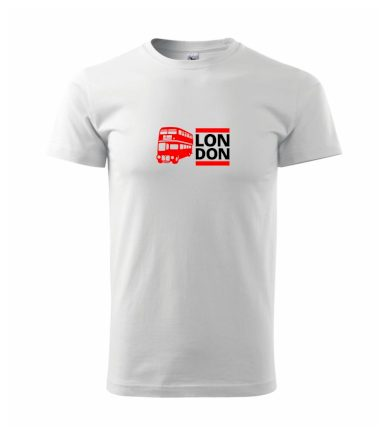 LON DON BUS - Heavy new - triko pánské