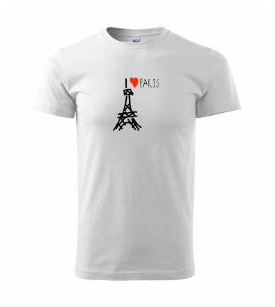 I love Paris - Heavy new - triko pánské