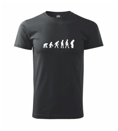 Evoluce baseball chytač - Heavy new - triko pánské