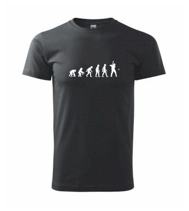 Evoluce baseball pálkař nápřah + míček - Heavy new - triko pánské