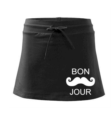 Bon Jour - Sportovní sukně - two in one
