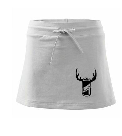 Pivo plechovka - Sportovní sukně - two in one
