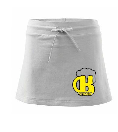 Pivo vitamín B - Sportovní sukně - two in one