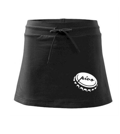 Pivo zátka - Sportovní sukně - two in one