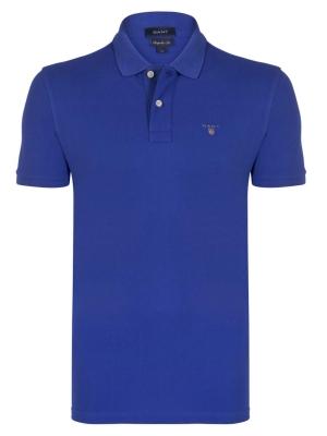 GANT pánská polokošile modrá