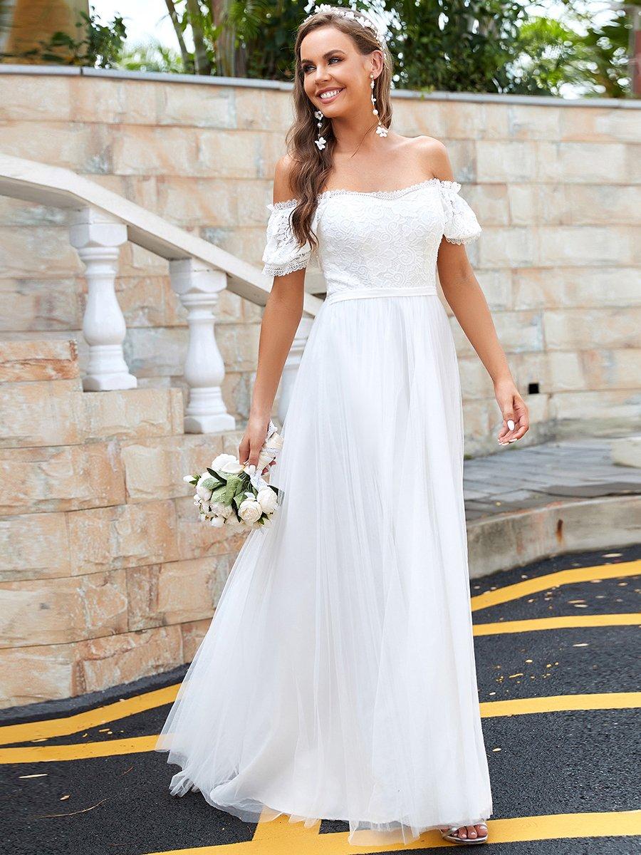 Svatební šaty krémové Ever Pretty 0317