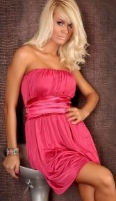 A Růžové letní šaty CHI73