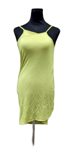 A Plážové zavinovací šaty jednobarevné zelinkavé