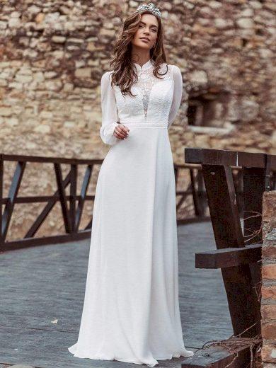 Ever Pretty bílé svatební šaty 0459