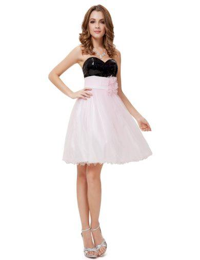 Ever Pretty koktejlové šaty 3920 s flitry